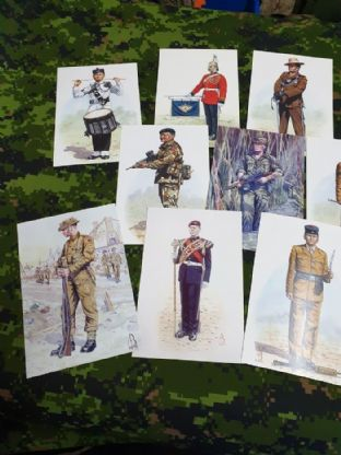 Military Postcards